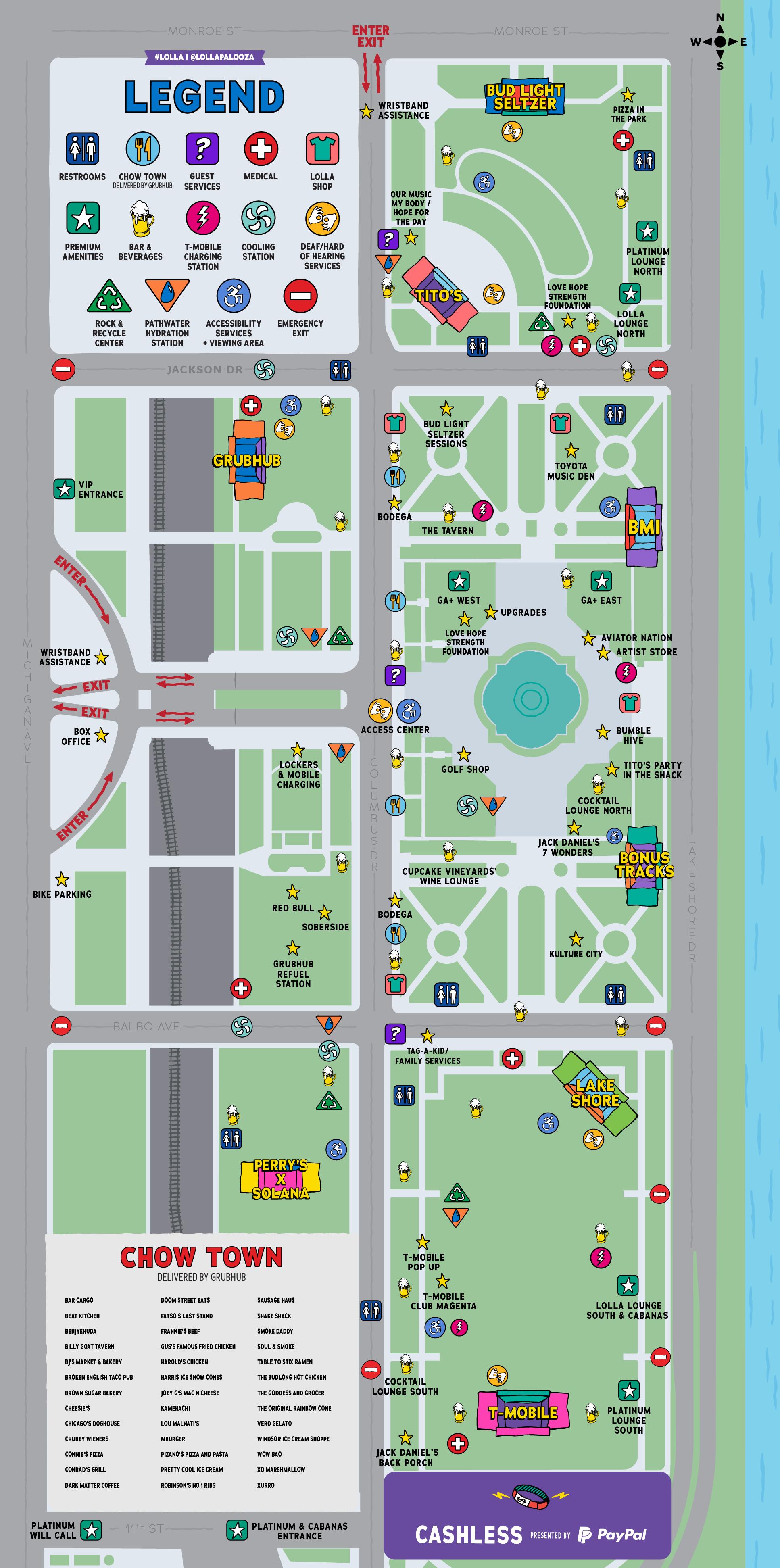 lollapalooza 2021 map